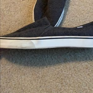Keds Shoes - Gray Quilted Slip-on Keds, Women's 9.5